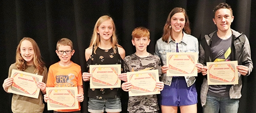 Each year the Waukon Middle School staff awards a Citizenship Award to a male and female student from each class at the school. The staff considers...