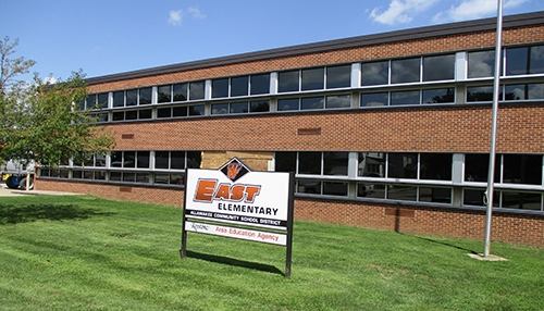 by Brianne EilersWork continues on the renovations at the East Elementary school building in Waukon. The building is now sporting new windows,...