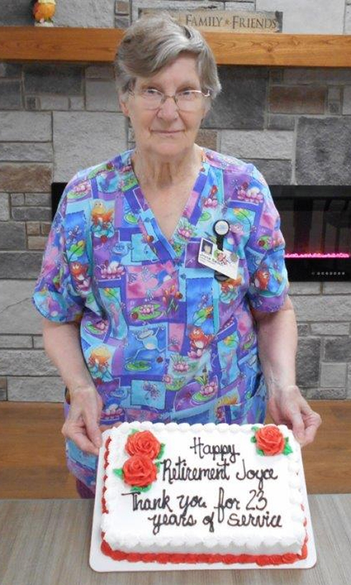 Joyce Sadler recently retired from Good Samaritan Society-Waukon, completing a 23-year career in the facility's Dietary Department. She started...