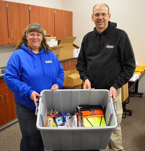 by Joe MosesFriday, October 4, Allamakee County Emergency Management Coordinator Corey Snitker and Director Deanna Hageman of Northeast Iowa...