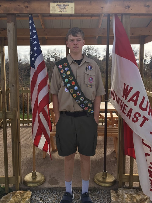 Charles Waters, son of Jaime and Jessica Waters of Waukon, has achieved Boy Scouts' highest rank of Eagle Scout, being recently designated with...