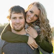 Jared Melcher and Brianna Gardner