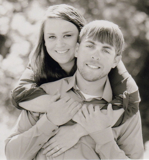 Megan Stewart and Danny Pfiffner