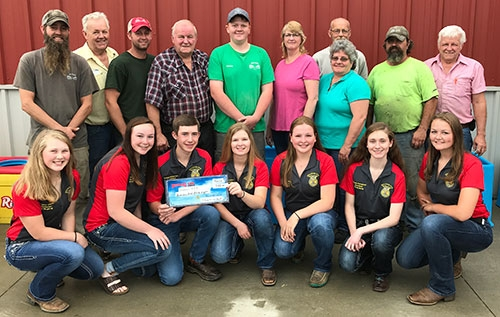 Support From Local Businesses Is Essential In The Success Of The Little Switzerland Ffa Chapter At Waukon High School And Its Members And Village Farm And