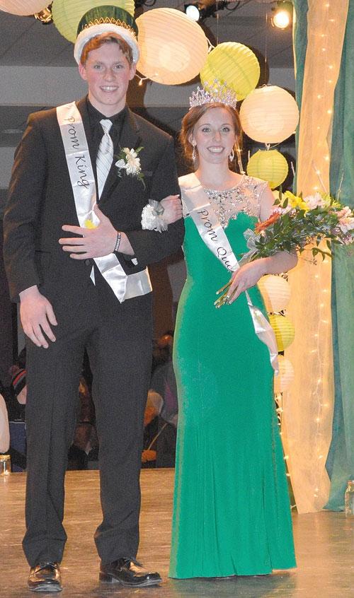 2015 Waukon High School Prom royalty   The Standard Newspaper