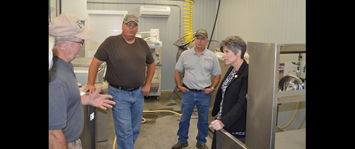 Senator Joni Ernst gets the scoop on WW Homestead Dairy ...