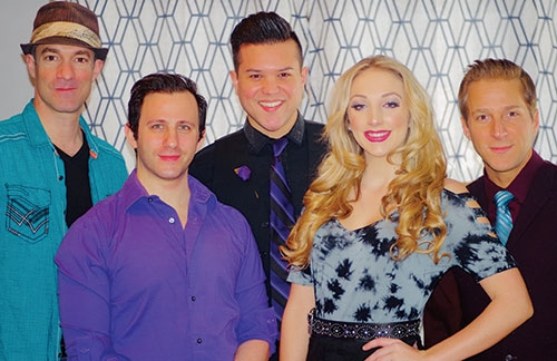 The Cat's Pajamas Vocal Band, a national touring professional a cappella group, will be performing at the Waukon High School Auditorium Friday...