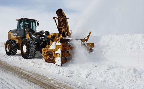 by Lissa BlakeWith 880 miles of road to maintain, Allamakee County road crews have been putting forth their best effort to combat the snow, ice...