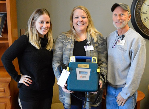 The Iowa Heart Foundation awarded Good Samaritan Society-Waukon an Automated External Defibrillator (AED) this year following a request made by the...