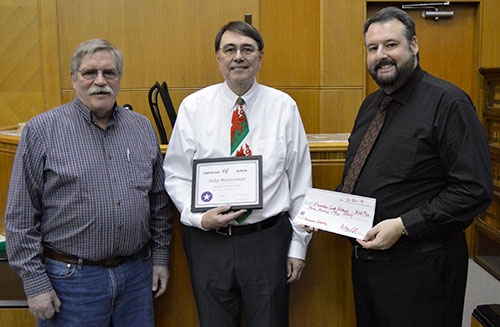 An open house reception was held Monday, December 30 at the Allamakee County Courthouse in Waukon in honor of the retirement of Iowa Judicial...