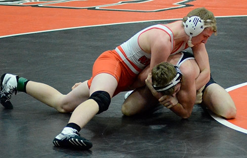 The Waukon wrestling team returned from the holiday break to get the 2020 portion of this season's schedule underway, the mat Tribe wrestling...