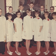 Glenwood Lutheran Church Confirmation Class of 1968 ...