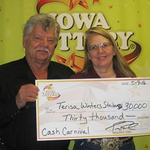Winters-Steiber wins $30,000 prize in new scratch game ...