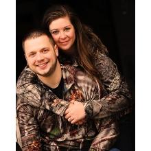 Tanner Fink and Megan Leiran