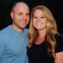 Nick Anderson and Liz Lloyd
